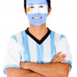 Happy Argentinean man - Stock Photo