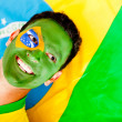 Stock Photo: Proud mfrom Brazil
