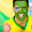 Happy Braziliman — Stock Photo #10110343