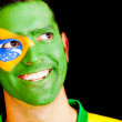 Stock Photo: Happy mfrom Brazil
