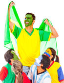 Brazil as champion — Stock Photo
