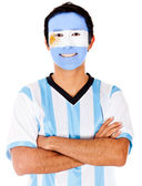 Happy Argentinean man — Stock Photo