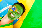 Proud man from Brazil — Stock Photo