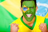 Happy Brazilian man — Foto Stock