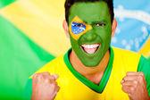 Homem brasileiro feliz — Foto Stock