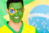 Brazilian man smiling — Stock Photo