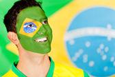 Proud Brazilian man — Stock Photo