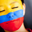 Stock Photo: Colombiwoman