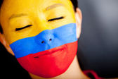 Colombian woman — Stock Photo