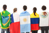 Latinamerican group — Stock Photo