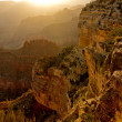 Sunset at the Grand Canyon - Stockfoto