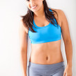 Happy fitness woman — Stock Photo #10224069