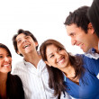 Happy friends talking — Stock Photo #10226765