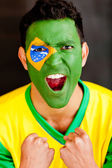 Excited Brazilian man — 图库照片