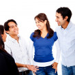 Group of talking — Stock Photo #10248315