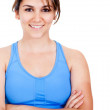 Stock Photo: Woman in sportswear