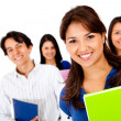 Happy group of students — Stock Photo #10267317