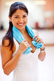 Sporty woman — Foto Stock
