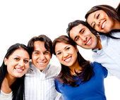 счастливый группы — Стоковое фото