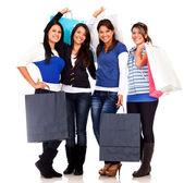 群购物妇女 — 图库照片