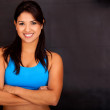Fit womsmiling — Stock Photo #10292517