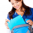 Stundent with backpack - Stock Photo