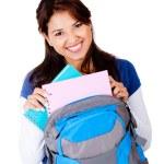 Happy female student — Stock Photo #10292548