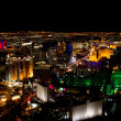 Las Vegas at night — 图库照片