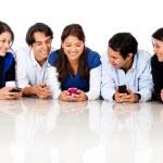 Grupo de mensajes de texto — Foto de Stock