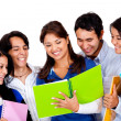 Happy group of students — Stock Photo #10394307