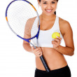 Tennis player — Stock Photo #10394364