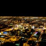 Las Vegas at night — Stock Photo