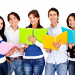 Happy group of students — Stock Photo #10445535