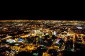 Las vegas bij nacht — Stockfoto