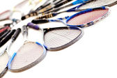 Squash rackets — Stock Photo