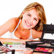 Woman with makeup - Foto Stock