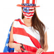American woman - Stock Photo