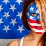 amerikanerin — Stockfoto