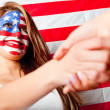 Stockfoto: Americhandshake
