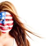 アメリカ人女性 — ストック写真