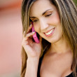 Girl on the phone — Stock Photo #10555281