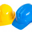 Stock Photo: Construction helmets