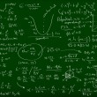 Math formulas - Stock Photo