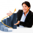 Business growth - Foto Stock