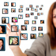 Social network — Stock Photo #10555371