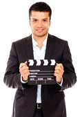 Male actor casting — Stock Photo