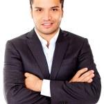 Latin businessman — Stock Photo