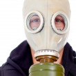 Gas mask — Stock Photo