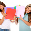 Female students — Stock Photo