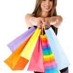 Shopping woman — Stock Photo #10588405